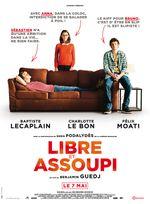 Affiche Libre et Assoupi