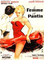 Affiche La Femme et le Pantin