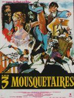 Affiche Les Ferrets de la reine - Les Trois Mousquetaires : 1ère Époque