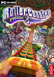 Jaquette RollerCoaster Tycoon 3