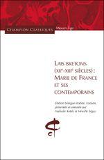 Couverture Lais breton XIIème-XIIIème siècles