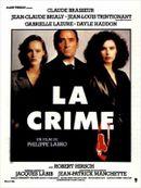 Affiche La Crime