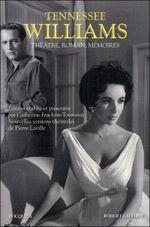 Couverture Théâtre, roman, Mémoires