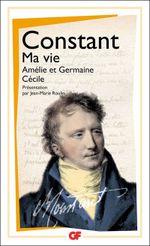 Couverture Ma vie, Amélie et Germaine, Cécile