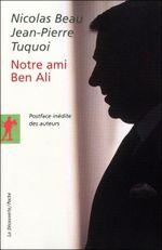 Couverture Notre ami Ben Ali