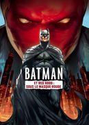 Affiche Batman et Red Hood : Sous le masque rouge
