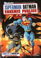 Affiche Superman / Batman : Ennemis publics