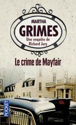 Couverture Le crime de Mayfair