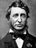 Photo Henry David Thoreau