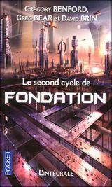 Couverture La seconde trilogie de Fondation, intégrale