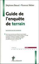 Couverture Guide de l'enquête de terrain