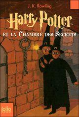 Couverture Harry Potter et la Chambre des secrets - Harry Potter, tome 2