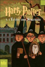 Couverture Harry Potter à l'école des sorciers - Harry Potter, tome 1