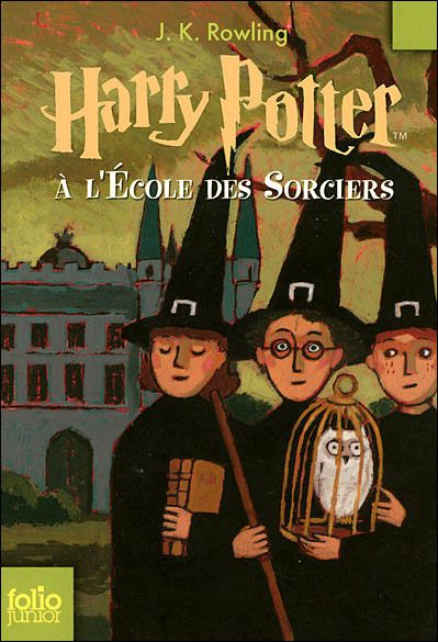 couverture harry potter l cole des sorciers   harry potter tome