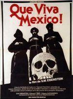 Affiche ¡Que Viva Mexico! - Da zdravstvuyet Meksika!
