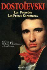 Couverture Les possédés, suivi de Les frères Karamazov