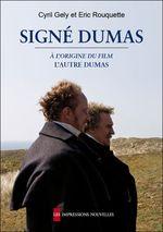 Couverture Signé Dumas