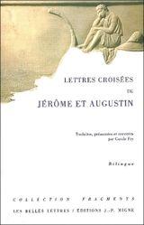 Couverture Lettres croisées de Jérôme et Augustin