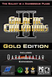 Jaquette Galactic Civilizations II : Gold Edition
