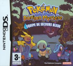 Jaquette Pokémon : Donjon Mystère - Équipe de Secours Bleue