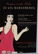 Affiche Mademoiselle Kiki et les Montparnos