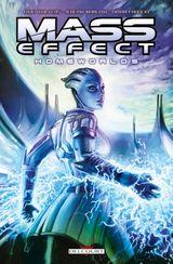 Couverture Mass Effect : Homeworlds