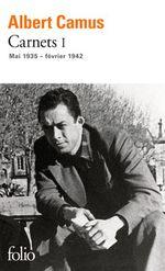 Couverture Carnets, tome I : Mai 1935 - février 1942