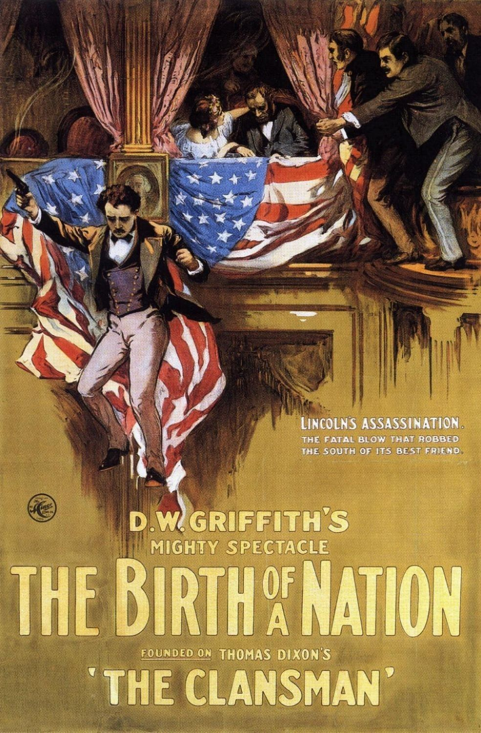 """a comparison of film the birth of nation and 1915 film The birth of a nation"""" and dw griffith response (april 10, 1915) (8 pgs) - the birth of film as art by seymour stern comparison added by samuel_scott."""