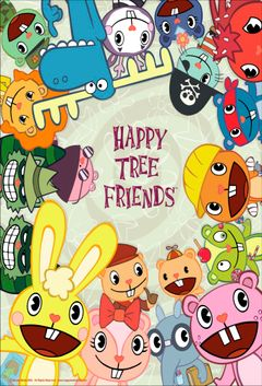 Affiche Happy Tree Friends