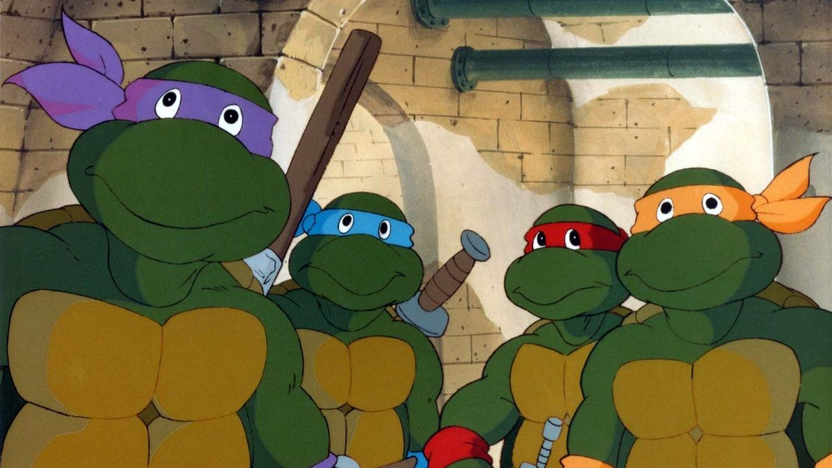 Tortues ninja dessin anim 1987 senscritique - Tortues ninja donatello ...