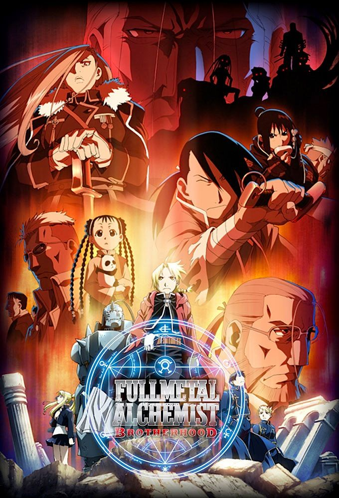 Fullmetal Alchemist : Brotherhood - Anime (2009 ...