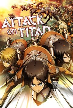 Affiche L'Attaque des Titans