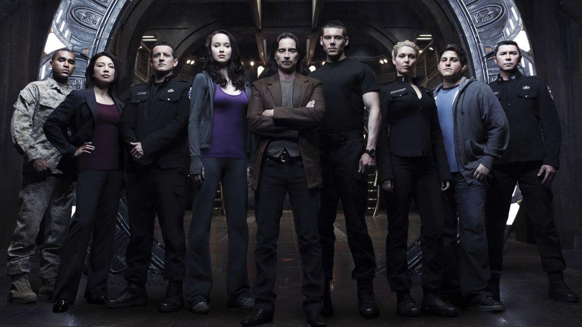 Stargate Universe Burning Series
