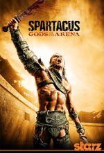 Affiche Spartacus, les dieux de l'arène