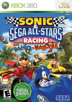 Jaquette Sonic & Sega All-Stars Racing