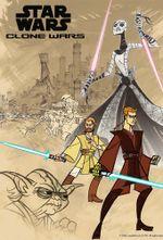 Affiche Star Wars : Clone Wars