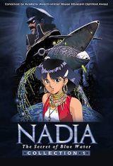 Affiche Nadia, le secret de l'eau bleue