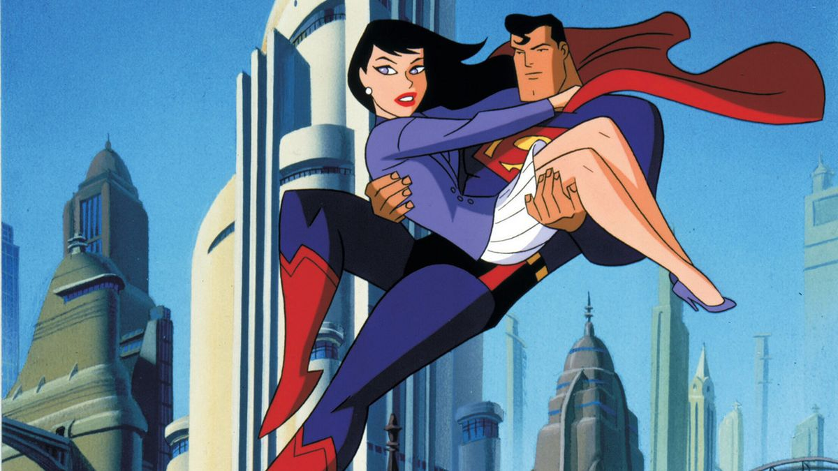 superman l 39 ange de m tropolis dessin anim 1996. Black Bedroom Furniture Sets. Home Design Ideas
