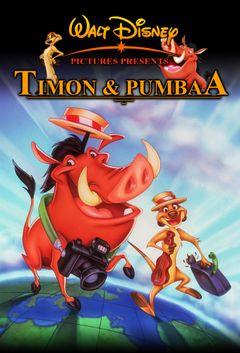 Affiche Timon et Pumbaa
