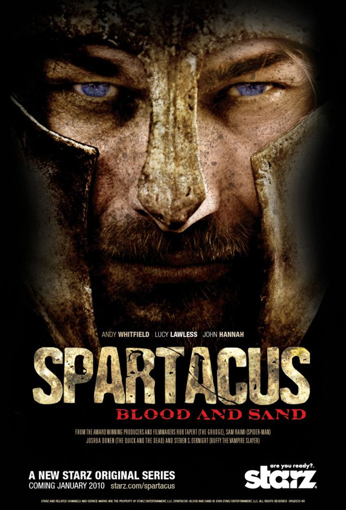 Spartacus gods of the arena poster