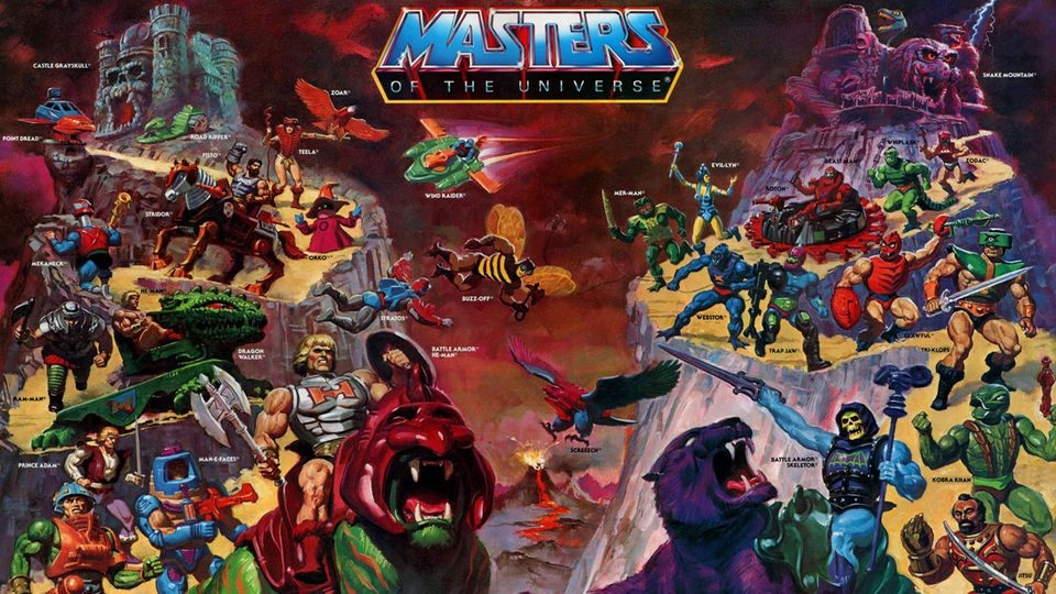 Affiches, posters et images de Les Maîtres de l'univers (1983)