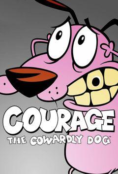 Affiche Courage, le chien froussard