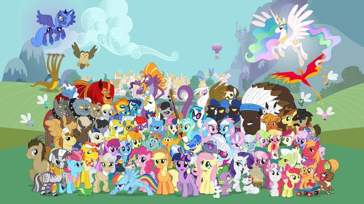 My little pony les amies c 39 est magique dessin anim 2010 - My little pony en dessin anime ...