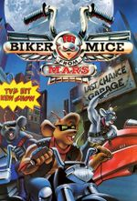 Affiche Biker Mice, les motards de l'espace