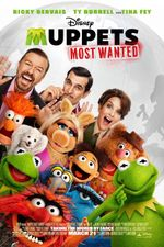 Affiche Muppets Most Wanted