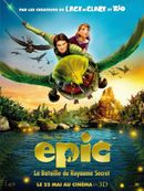 Affiche Epic : La Bataille du royaume secret