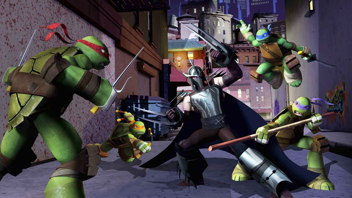 Les tortues ninja 2012 s rie 2012 senscritique for Repere des tortue ninja