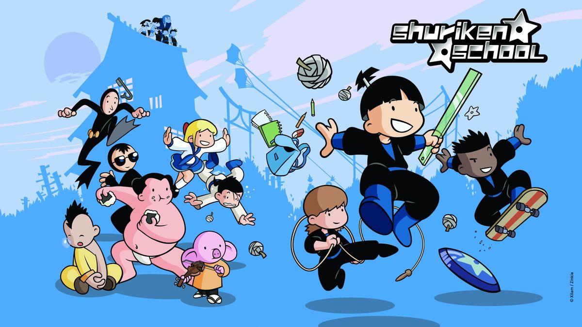 Shuriken school s rie 2006 senscritique - Shuriken school ...