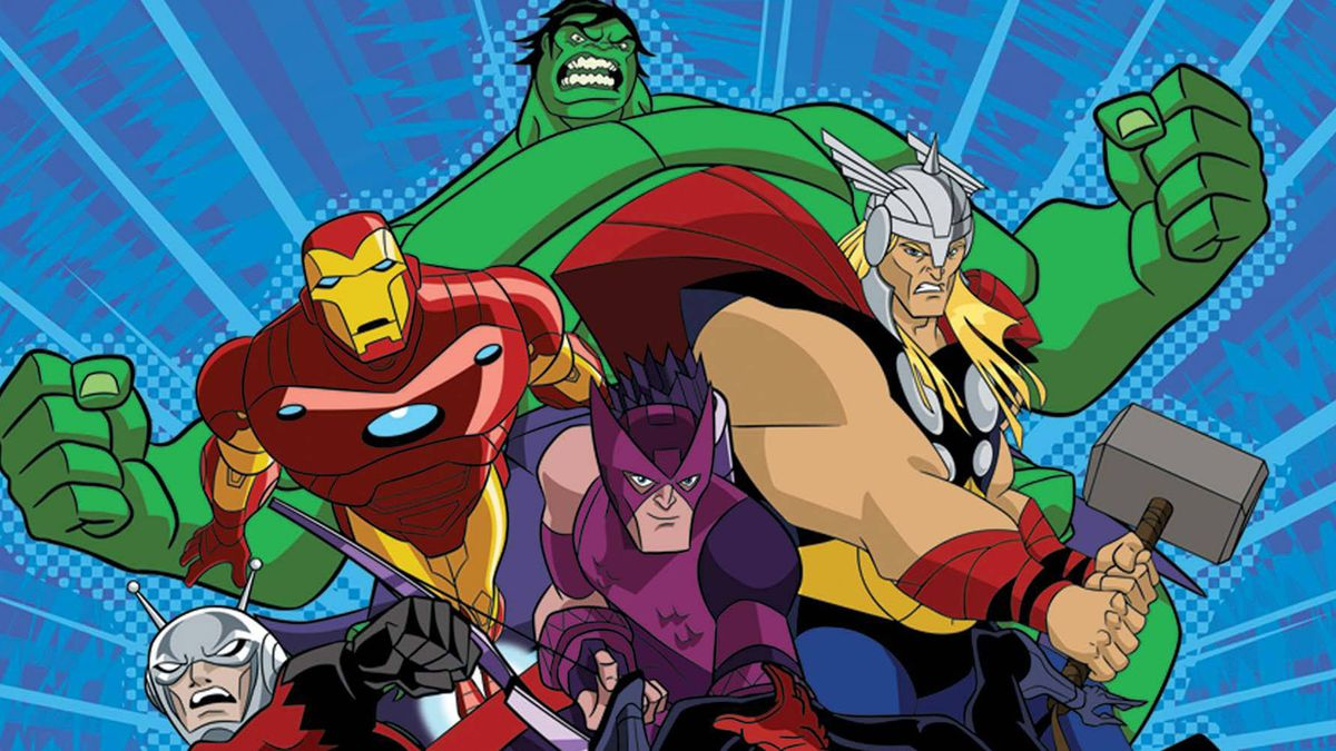 Avengers L Equipe Des Super Heros Dessin Anime 2010