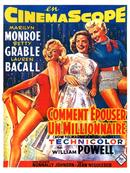 Affiche Comment épouser un millionnaire